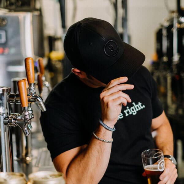 Bluffton Brewery Black on black